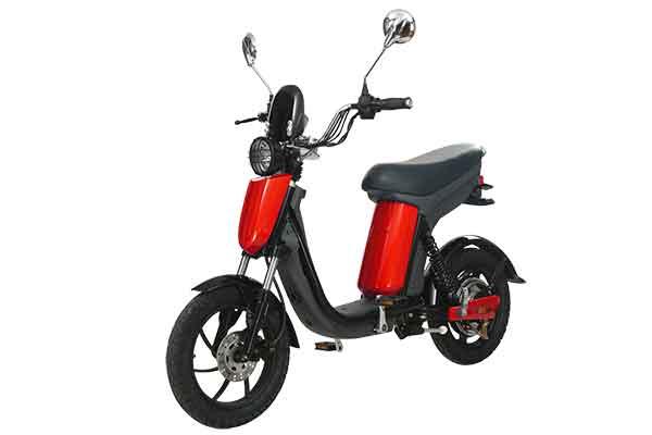 Electric pedal moped Evolts model design progress 4