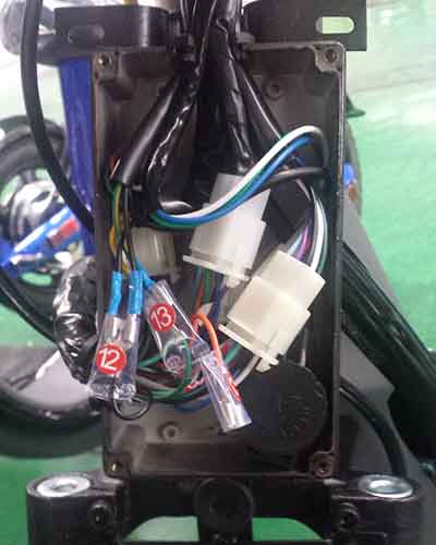 Electric pedal moped Evolts model design progress 8