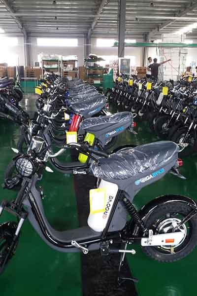 Electric pedal moped Evolts model design progress 6