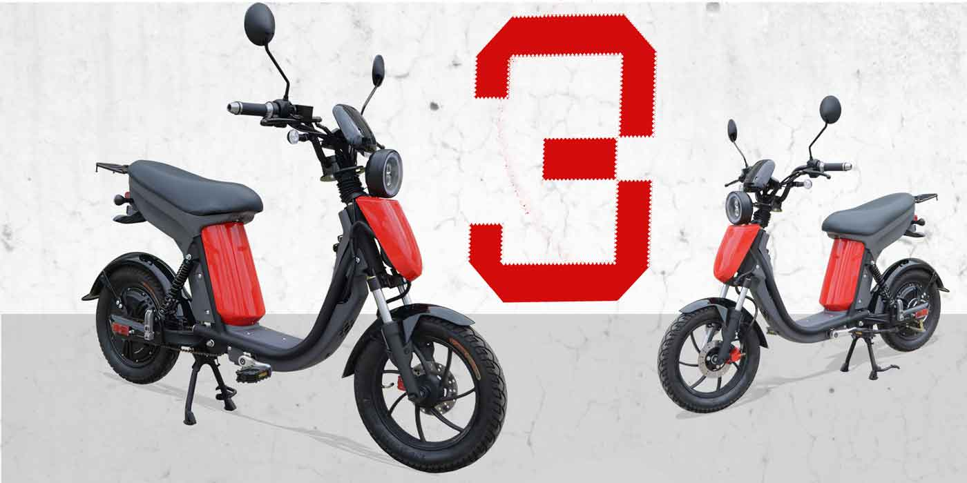 Evolts electric moped bike series 5