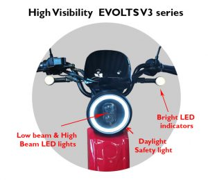 New Electric Mopeds for adults vs Electric Bike comparison 14