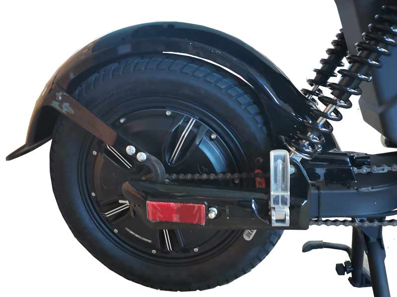 Evolts V3 get the latest street legal electric moped 4