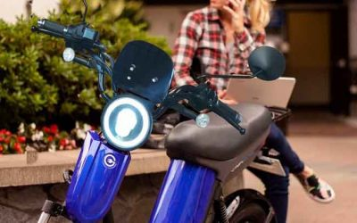 Latest electric moped in 2020